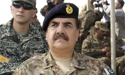 Drone issue to be discussed during army chief's US visit
