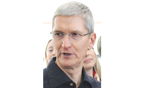 Apple chief says he is gay