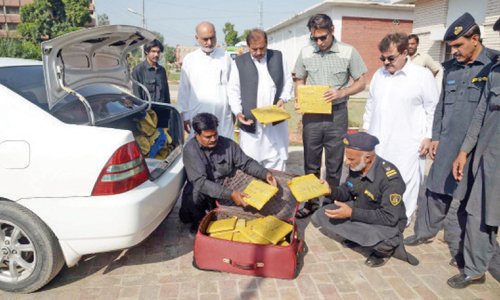 Big consignment of narcotics seized