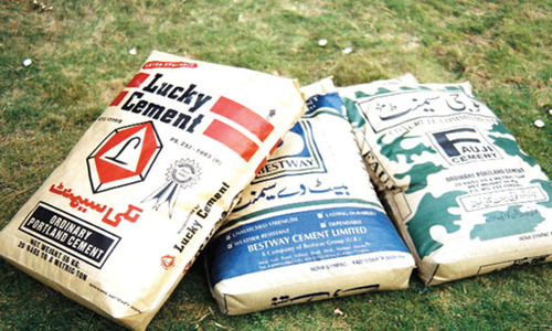 Cement being exported at Rs300 a bag