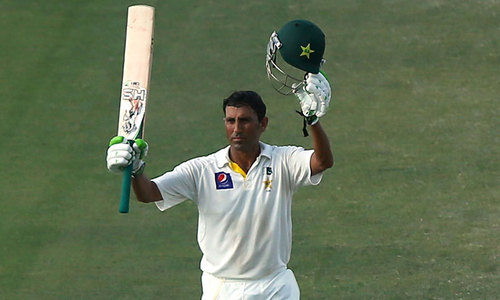 Prolific Younis wants to be remembered as 'team man'