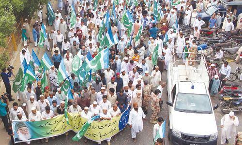 JI protest against Bangladesh leader's death sentence