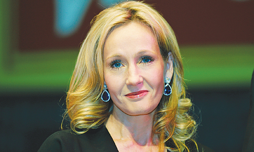 Rowling reveals new tidbits on Pottermore site