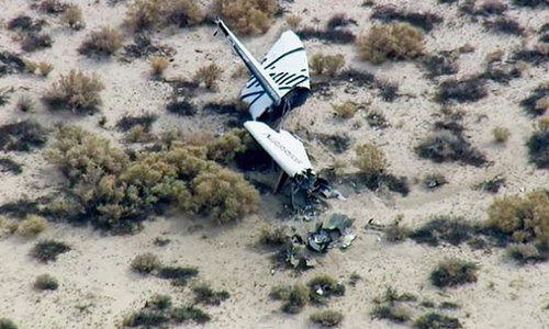 One dead in Virgin spaceship crash