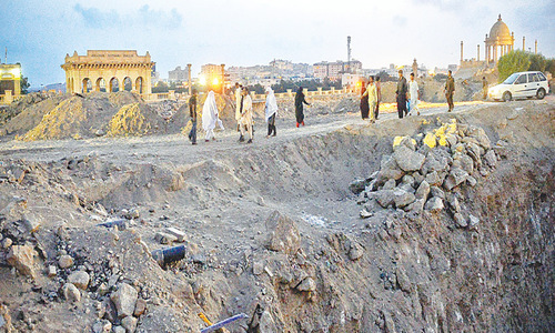 Action sought over slow pace of work on flyover projects