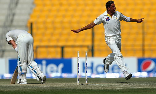 Australia bowled out for 261; Pakistan bat again