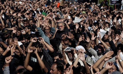 Ashura being observed today amid strict security