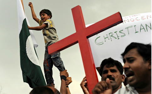 Christian couple beaten to death for 'desecrating Quran': police