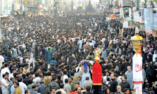 Peace prevails on Ashura