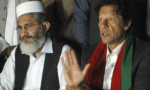 Imran again asks SC to investigate poll rigging