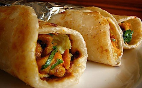 Note Book: Paratha rolls in the City of Lights