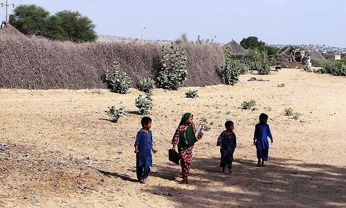 drought in thar Karachi: the government of sindh has declared thar and parts of umarkot as drought-hit areas, while, decided to install desalination plant in karachi the new sindh cabinet taken decisions in its first meeting, presided over by chief minister murad ali shah on monday.