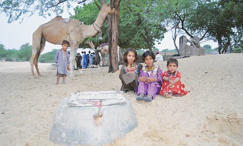 Living and dying for water in Thar