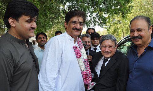 PPP's Murad Ali Shah 'elected unopposed' in PS-73 Jamshoro