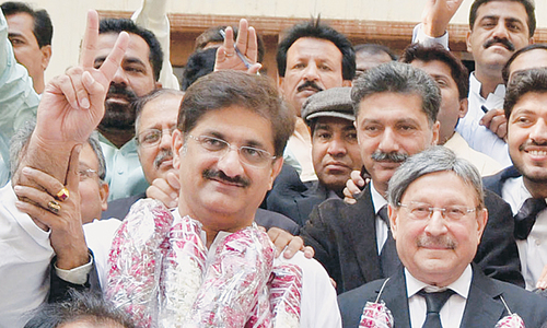 'PPP's Murad Shah wins PS-73  by-poll unopposed'