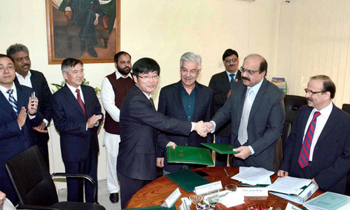 LoI for 590MW power project signed with Chinese firm