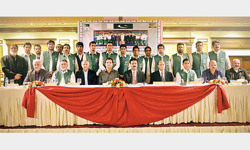 Financial help for hockey uplift sought