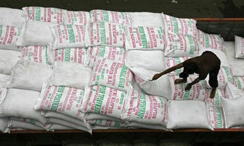 Export of 500,000 tonnes sugar allowed