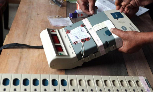 Electronic voting machines can be manipulated more easily: ECP