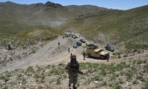 Five militants killed in clash on Pak-Afghan border, Chitral