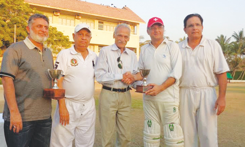 Nadeem Omar's brilliant knock in vain as Karachi Gymkhana win