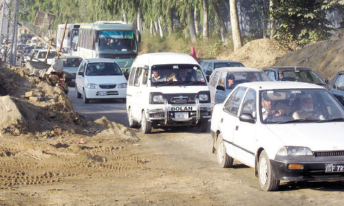 Mounting inconveniences caused by metro bus project