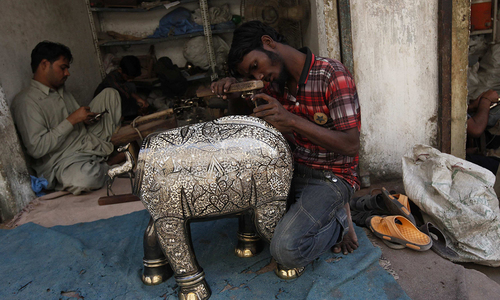 Carving out a livelihood in Karachi