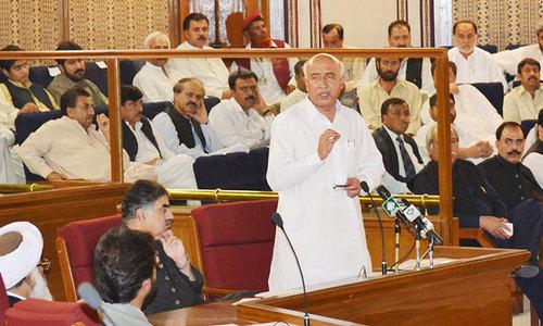 Cracks appear in Balochistan coalition govt