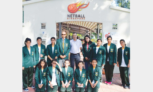 Pakistan netball girls team impress on Singapore tour