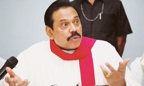 Rajapaksa seeks third term as president