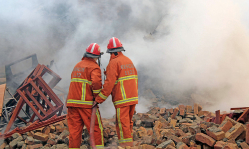 Furniture factory gutted