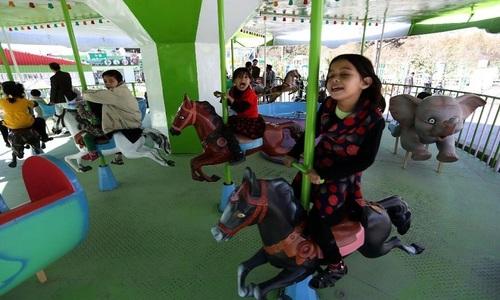 Afghanistan's first fun park brings joy amid war