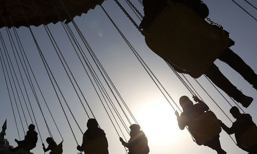 Afghanistan's first amusement park