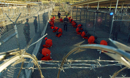 US releases five Guantanamo detainees to Georgia, Slovakia