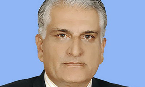 Federal minister Zahid Hamid tenders resignation