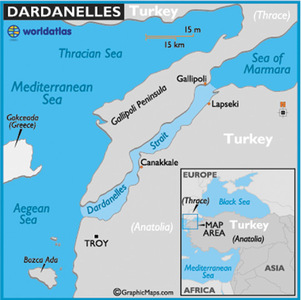 Turkey to bridge the Dardanelles in new mega project