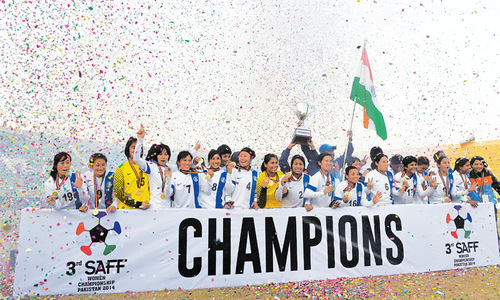 India humble Nepal 6-0 to lift SAFF trophy for third time