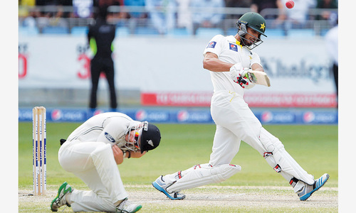 Pakistan salvage draw after Taylor's century