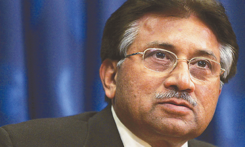 Abettors' trial ordered in Musharraf case