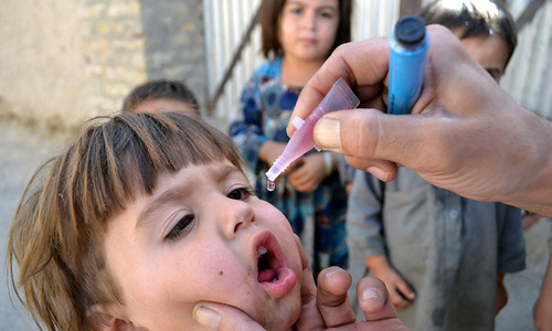 Two more polio cases reported in Balochistan