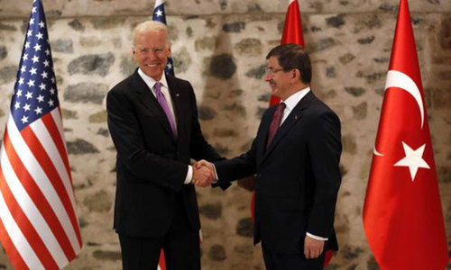 Turkey, US play down differences on fight against Islamic State