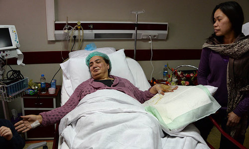 Female Afghan MP injured but defiant after suicide attack