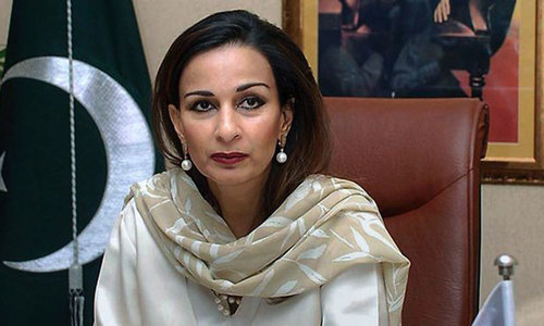 Blasphemy allegations: Police asked to resubmit report on Sherry Rehman case
