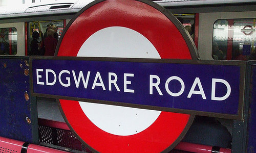 Edgware Road: Walking in freedom