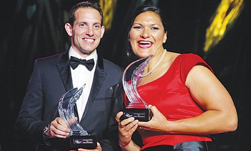 Frenchman Lavillenie, Kiwi Adams named IAAF athletes of the year