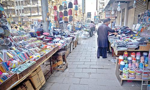 Vending on footpaths