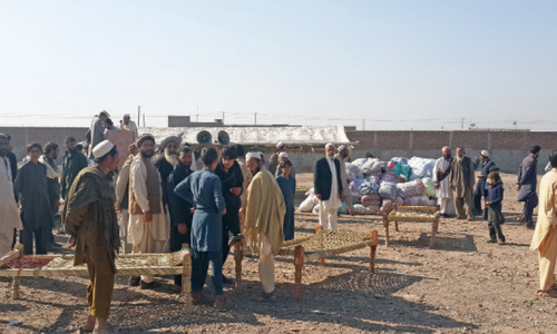 Anger, uncertainty writ large on the faces of new Khyber IDPs