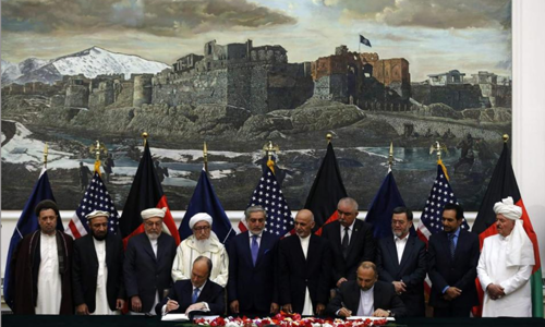 Afghan parliament approves US, NATO agreements