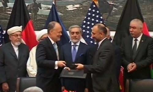 افغان پارلیمنٹ کی امریکا، نیٹو سے دوطرفہ معاہدوں کی منظوری