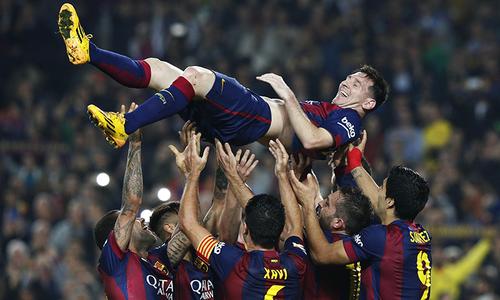 میسی لالیگا کی تاریخ کے کامیاب ترین فٹبالر